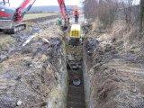 Dostavba kanalizace 16.4.2013