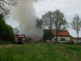 Zásah hasičů