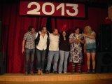 Zábavné vystoupení členů skupiny Red Mouse a jejich přátel 31.12.2012