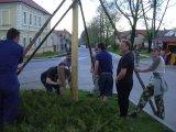 Stavění májky 30.4.2012