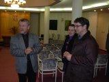 Výstava v obřadní síni Městského úřadu v Plané nad Lužnicí - zahájení výstavy 11.1.2013