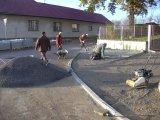 Výstavba chodníku 9.11.2012