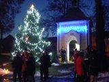 Zpívání koled u kapličky 25.12.2012